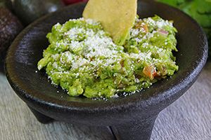 Hand-made Guacamole